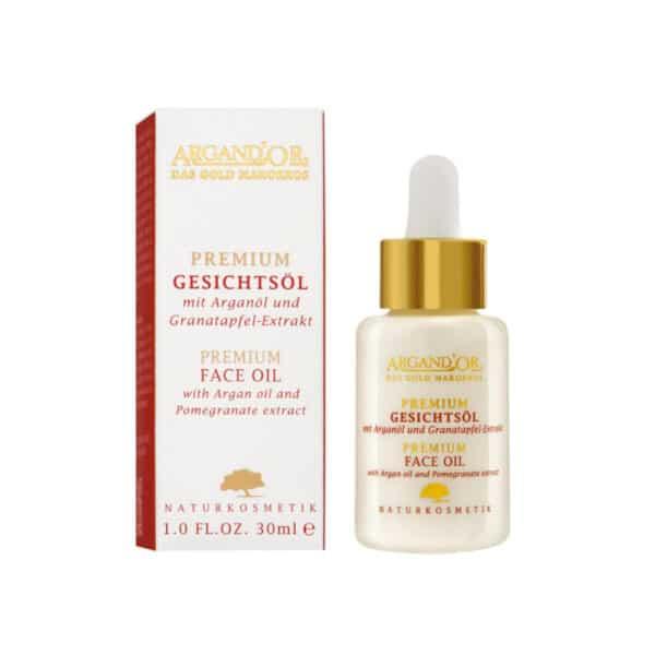 Argand'Or Premium Gesichtsöl Mit Arganöl Und Granatapfelextrakt 1