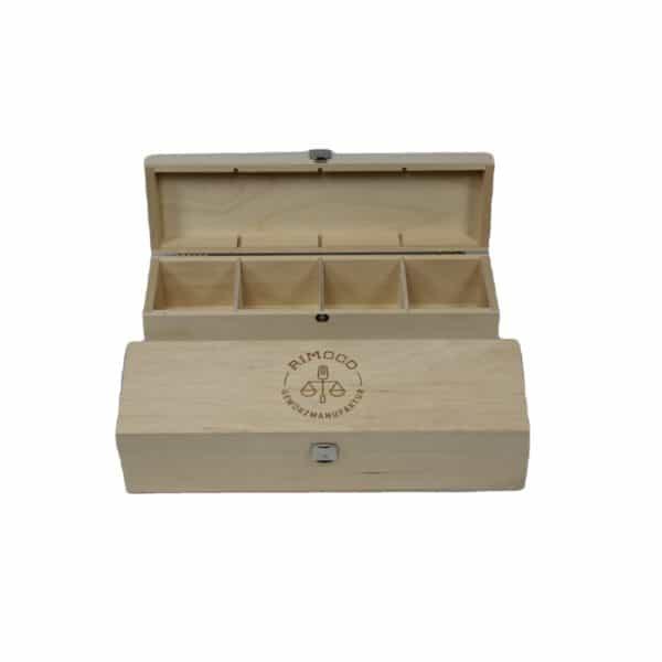 Geschenbox Holz Gewürze