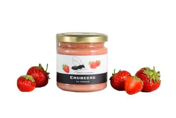 Honig Erdbeere