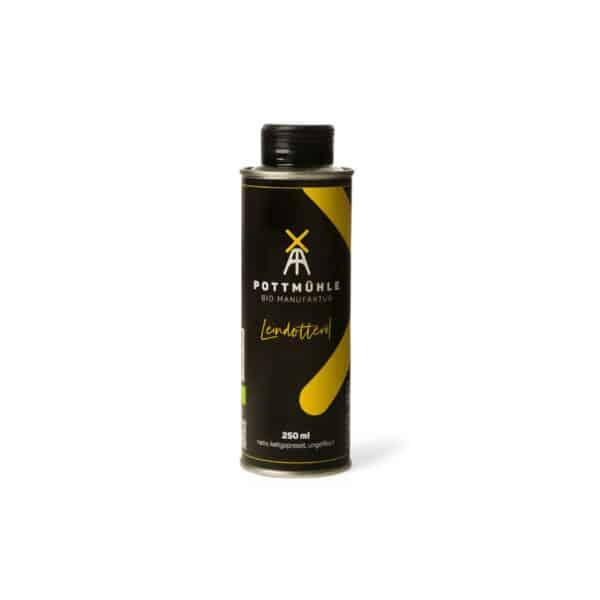 Bio Leindotteröl - 250 Ml - Kaltgepresst, Nativ, Ungefiltert