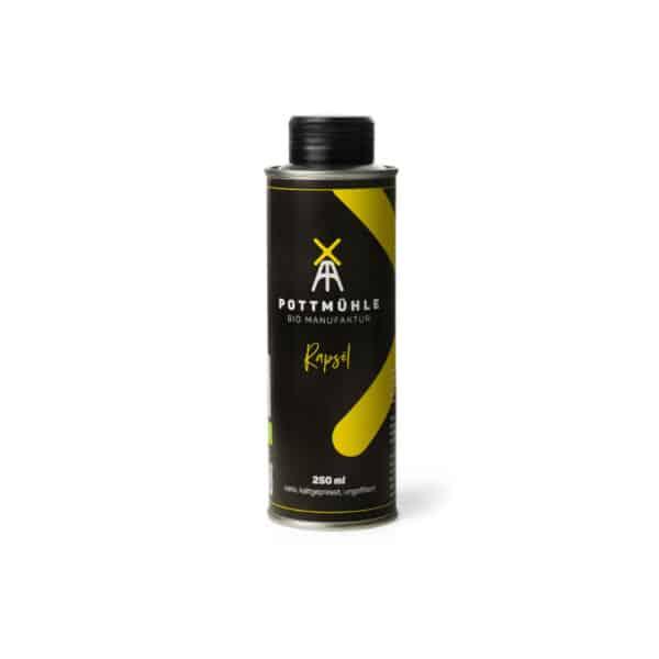 Bio Rapsöl - 250 Ml - Kaltgepresst, Nativ, Ungefiltert