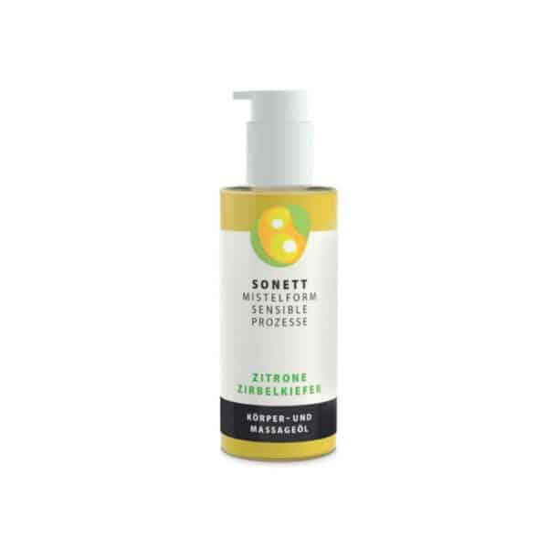 Sonett Körper- Und Massageöl Zitrone-Zirbelkiefer